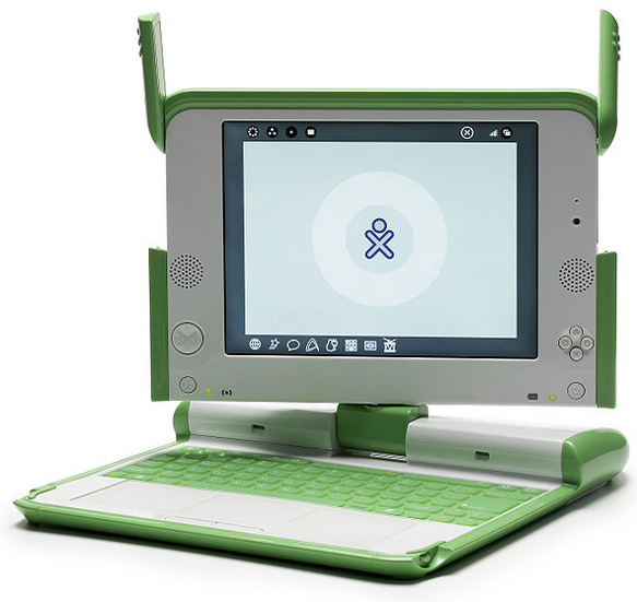 Image the XO laptop for children.