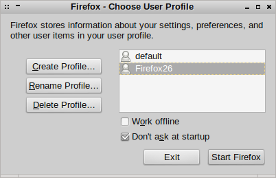 Image of firefox user profile dialogue
