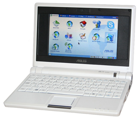 Image of the ASUS EEE PC 701