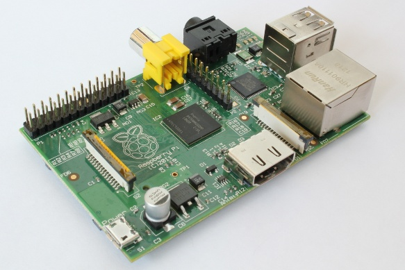 Image of the Raspberry Pi